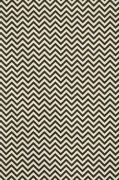 Lokta Chevron Black On Cream Fine Paper - this bold chevron pattern is printed in black onto cream Lokta paper for this striking design.