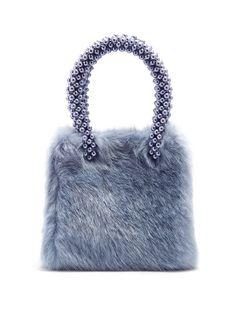 Una faux-fur bag  | Shrimps | MATCHESFASHION.COM US