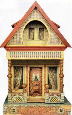 Small Bliss Dollhouse. #DollShopsUnited