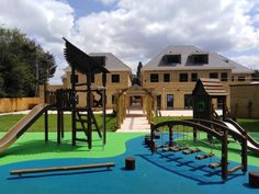 This lovely new play area is located in North London. Real Nature, Hindu Temple, North London, Playgrounds, Flora, Environment, Mansions, House Styles, City