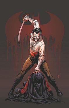 ra's al ghul vs. red robin (timothy jackson drake-wayne) (god damn I miss this comic....)