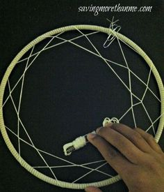 Our DIY Dreamcatchers tutorial will show you how to make your own dreamcatcher step by step. Diy Arts And Crafts, Cute Crafts, Crafts To Make, Diy Crafts, Twine Crafts, Dream Catcher Tutorial, Medicine Wheel, Crafty Craft, Crafting
