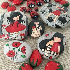 Fun With Arts And Crafts Product Pebble Painting, Pebble Art, Stone Painting, Stone Crafts, Rock Crafts, Arts And Crafts, Rock Painting Patterns, Rock Painting Designs, Paint Designs