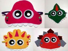 Hoje foram as máscaras em feltro que chegaram por aqui.... #festadinossauro #jurassicworld #dino compre aqui