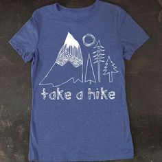 Women s Take A Hike Tee by TrulySanctuary T-Shirt Shirt Tshirt on Etsy 1d706d943ed