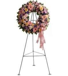 grapevine funeral wreath - Google Search
