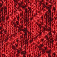 Zickzack Dishcloth - Knitting Patterns and Crochet Patterns from KnitPicks.com