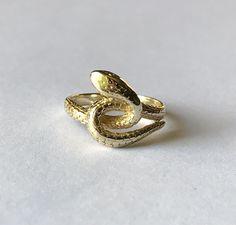 1970s snake ring ~ETS #snake