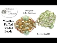 MiniDuo Puffed Beaded Beads - YouTube