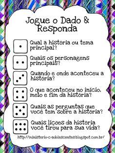 """Ministério Adolescentes: """"Jogue o Dado & Responda""""                                                                                                                                                                                 Mais"""