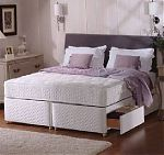 Sealy Backcare Elite Posturepedic Single Divan Bed