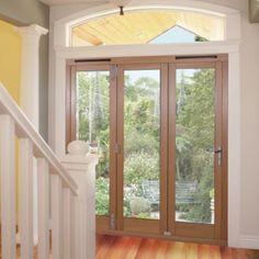 Freedom Trifold Right-Handed Oak-Veneer Doors, (H)2,090 x (W)1,789 x (D)820mm, 19456