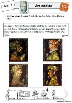 Arcimboldo - Sanleane& little satchel - - Art History Major, History Of Wine, Art History Lessons, Art Lessons, History Projects, History Memes, History Books, Giuseppe Arcimboldo, Montessori Art