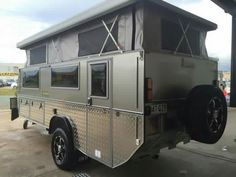 Bus Camper Trailers Travel Small Campers Teardrop Trailer Tiny House Living Jeep Stuff Camping Ideas Atv