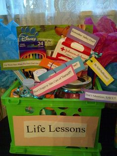Graduation Gifts- life lessons