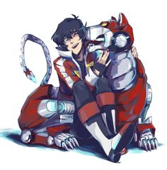 Commission for @flusteredkeith by rejected3 - Keith & Red