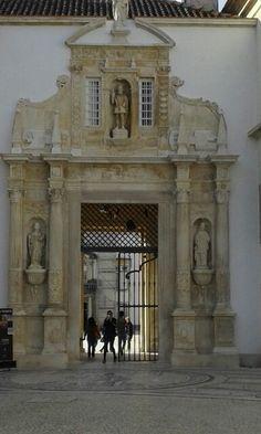 Universidade de Coimbra, Portugal.