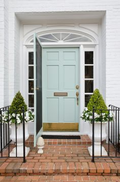 Mint front door.