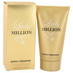 Lady Million By Paco Rabanne Body Lotion 5.1 Oz