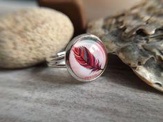 """Ringe - Handmade Ring """"Feder (Dream)"""" - ein Designerstück von Soulmate-Works bei DaWanda"""