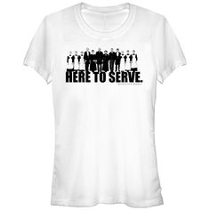 Downton Abbey Junior's - Here to Serve T Shirt #downton #downtonabbey #fifthsun