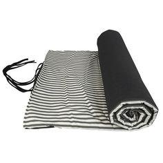 """Picknickdecke / Strandmatte """"Black & White"""" von AU Maison"""