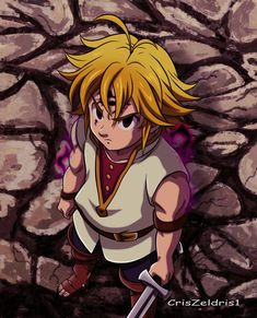 Meliodas-Nanatsu no Taizai Movie by on DeviantArt Ahri Wallpaper, Demon King Anime, Naruto, A Thousand Years, Seven Deadly Sins Anime, Azula, Animation, Deviantart, Anime Style