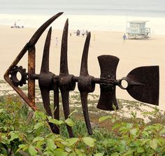Rusty Beach Fish by enovember, via Flickr