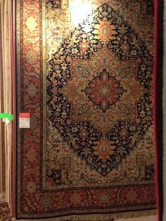 It's national Karastan month come stop by Macy's and check out Karastan's beautiful area rugs