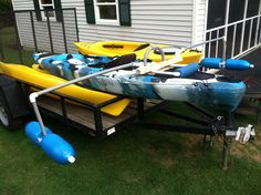 Fishing Kayak coming along with outriggers