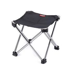 Kids Sport Folding Stool Portable Stool Camping Fishing 9x9x8 Inches Black >>> You can find out more details at the link of the image.Note:It is affiliate link to Amazon.