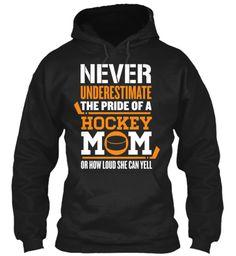 Never Underestimate Mom Hockey | Teespring
