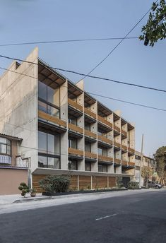 This apartment building by Dellekamp Arquitectos is located in Benito Juárez, Mexico City. It was conceived of as a housing development for young, middle-class families. The main premise of the project was to design an economical structure that could also offer above-average materials and...
