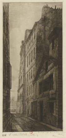 Rue Saint-Christophe (Cité), 1865