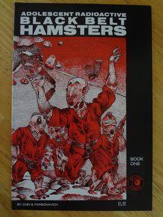 Adolescent Radioactive Black Belt Hamsters - TMNT parody lol