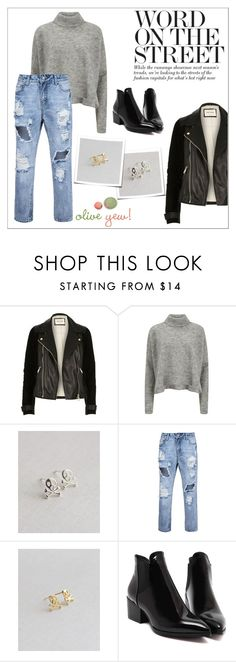 """""""Oliveyewjewelry"""" by water-polo ❤ liked on Polyvore featuring River Island, Designers Remix, polyvoreeditorial, handmadejewelry and oliveyew"""