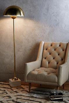Mixed Material Floor Lamp