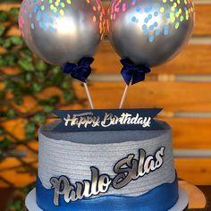 Happy Birthday, Birthday Cake, Sweets, Food, Blue Birthday Cakes, Male Birthday Parties, Birthday Cakes For Men, Birthday Cakes, Dessert Food