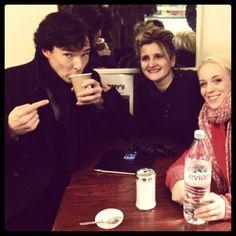Sherlock? Na... Still Benedict! Twitter / speedyscafe : Breakfast time with ...
