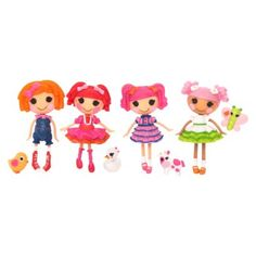 Lalaloopsy Mini Doll Assortment. Any Mini Dolls would be good but she does already have Marina Anchors and Pepper Pots 'N' Pans.