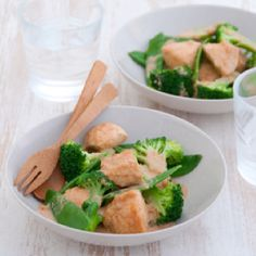 so quick & easy… to … Recipe …Guilt Free Penang Chicken.so quick & easy… to make……. Salmon Stir Fry, Michelle Bridges, Clean Eating, Healthy Eating, Healthy Food, Healthy Habits, Healthy Bodies, Healthy Choices, Healthy Life