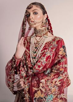 Pakistani Fashion Party Wear, Pakistani Wedding Outfits, Pakistani Dress Design, Wedding Attire, Desi Wedding, Muslim Fashion, Latest Bridal Dresses, Wedding Dresses For Girls, Bridal Outfits