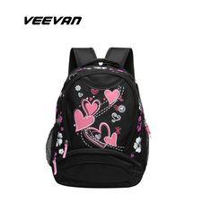 VEEVAN 2016 children school bags causal women backpack school backpacks  school bags for girls and teenagers rucksack book bag 8658799eaf
