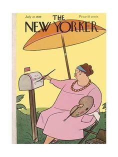 Premium Giclee Print: The New Yorker Cover - July 22, 1939 by Rea Irvin : 12x9in