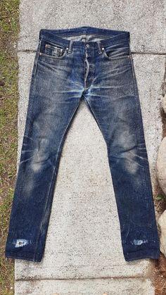 PBJ XX-18oz-013 ~270 wears / 9 months, 5 washes.