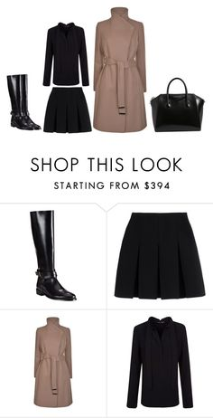 """""""Senza titolo #1245"""" by granatina ❤ liked on Polyvore featuring Burberry, Alexander Wang, Ted Baker, Proenza Schouler, Givenchy, Fall and minimal"""