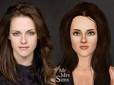 sims 3 character creation bella swan 3 Characters, Bella Swan, Character Creation, Sims 3