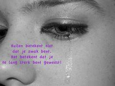 Huilen is niet zwak
