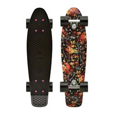 "This will soon be in my power! Penny Skateboards USA Penny Floral 22"" Original Plastic Skateboard"