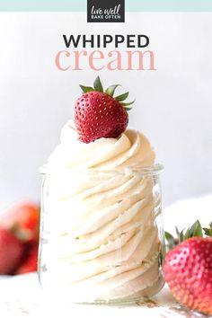 Baking Tips, Baking Recipes, 5 Ingredient Recipes, Homemade Whipped Cream, Classic Desserts, Breakfast Snacks, Dessert For Dinner, How To Make Homemade, Carrot Cake